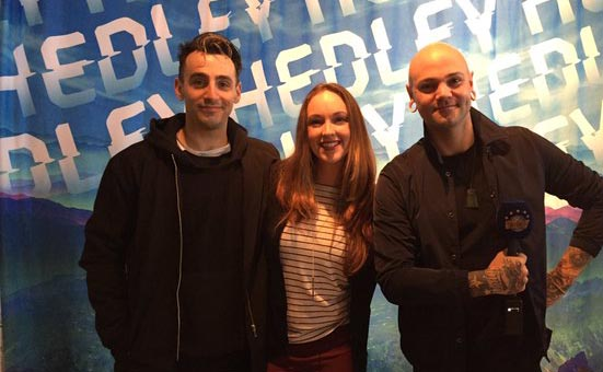 Backstage Pass with Amanda Mews and Hedley