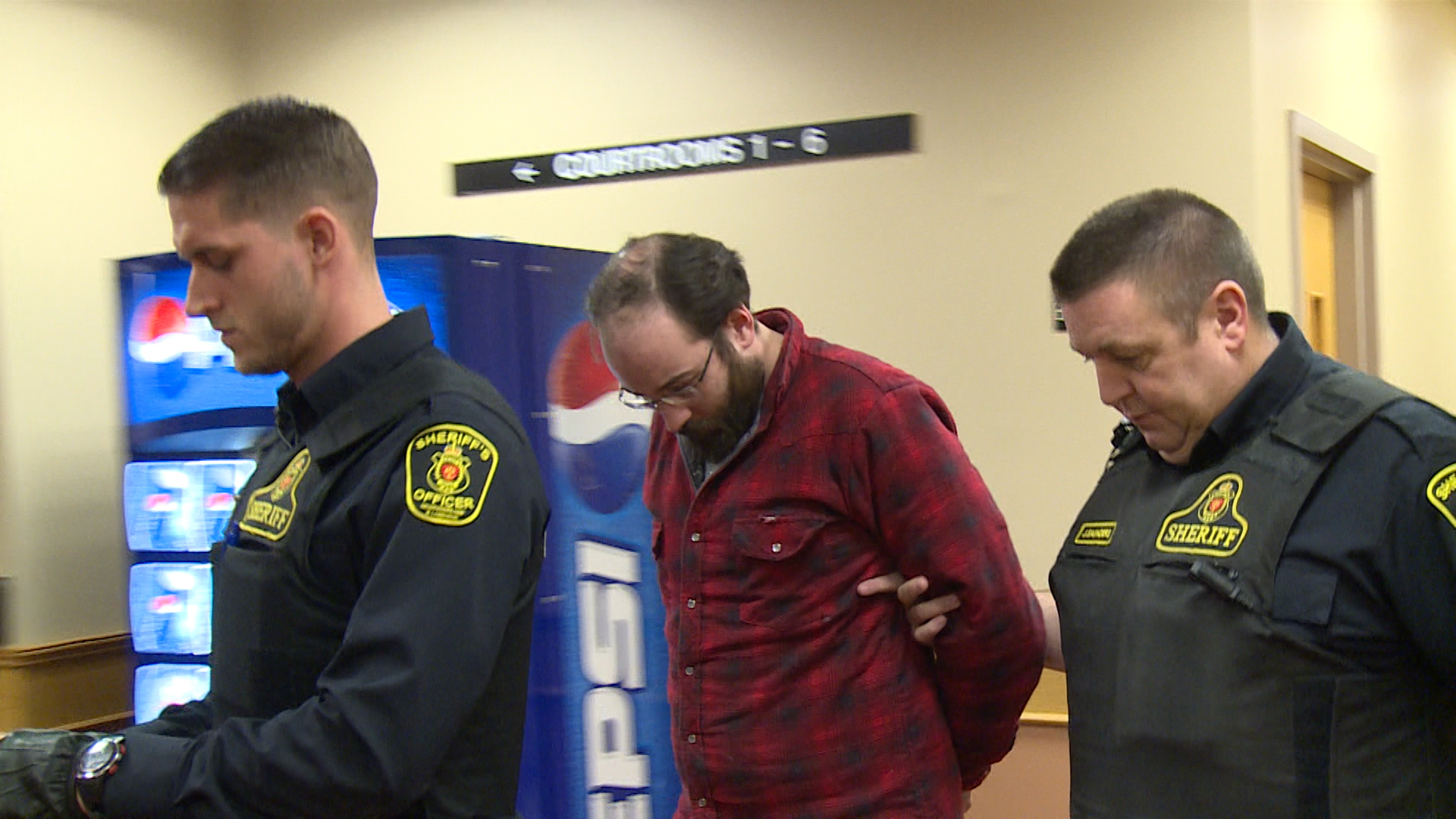Nathaniel Somerton, 33, was arrested January 10 in St. John's (Photo: Ryan Harding/NTV)